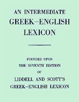 Mega Books International Intermediate greek - english lexicon cena od 1537 Kč