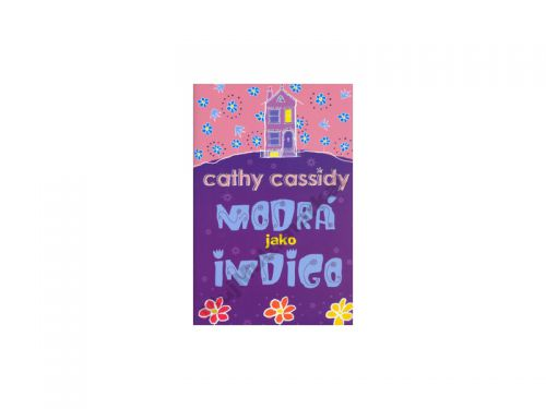 Cathy Cassidy Modrá jako indigo cena od 147 Kč