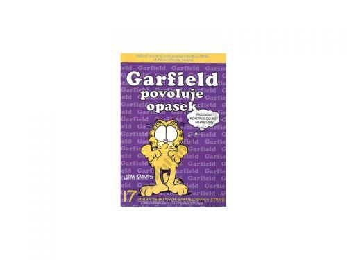 Jim Davis: Garfield povoluje opasek cena od 87 Kč