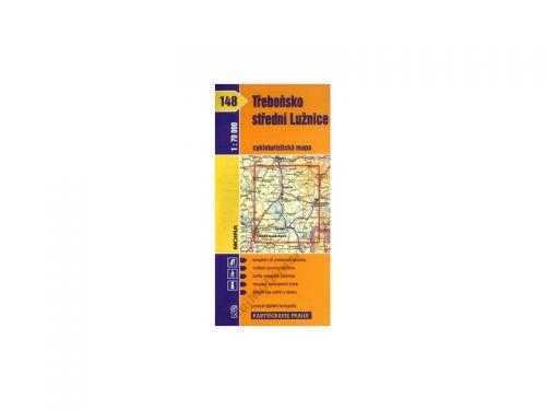 Kartografie PRAHA Třeboňsko, střední Lužnice 1:70 000 cena od 76 Kč