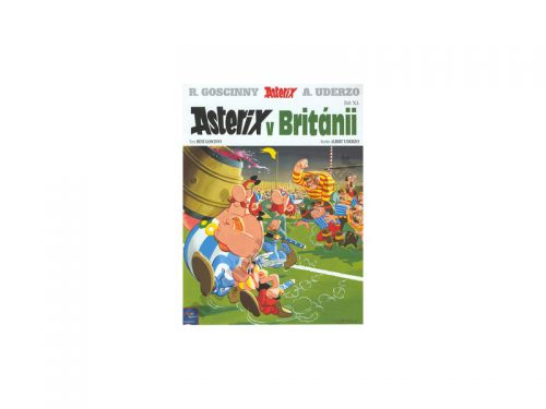 René Goscinny Asterix v Británii cena od 106 Kč