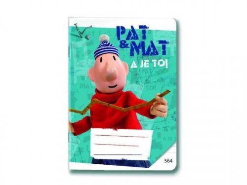 Bonaparte: Sešit 544 - Pat a Mat cena od 17 Kč