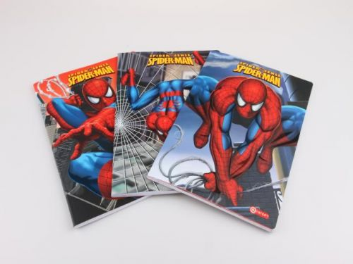 Alltoys CZ Školní sešit A4 Spiderman linkovaný cena od 0 Kč