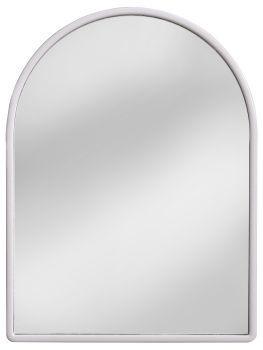Amirro Zrcadlo v plastovém rámu Kačenka bílá 40x30