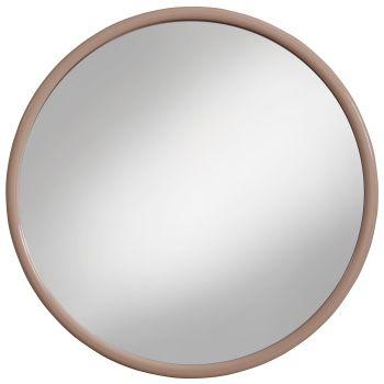 Amirro Zrcadlo v plastovém rámu Kuba béžová 40 cm