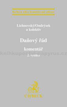 Roman Ondrýsek: Daňový řád komentář cena od 1226 Kč
