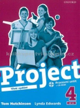 Tom Hutchinson: Project the Third Edition 4 Workbook CZ cena od 195 Kč