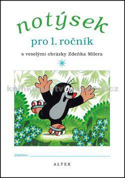 Zdeněk Miler: Notýsek pro 1. ročník ZŠ cena od 17 Kč
