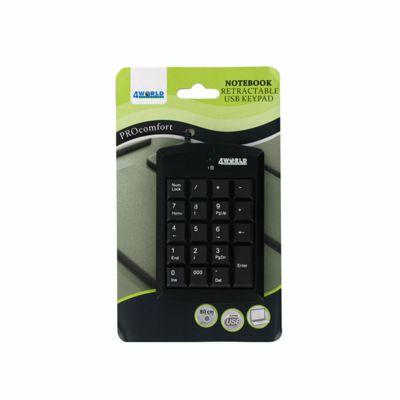 4World Numerická klávesnice na USB super mini