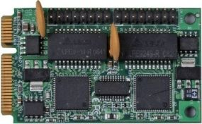 DeLock MiniPCIe 2x Gigabit Ethernet LAN