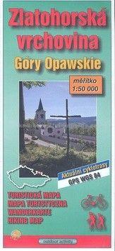 JENA Zlatohorská vrchovina 1:50 000 cena od 25 Kč