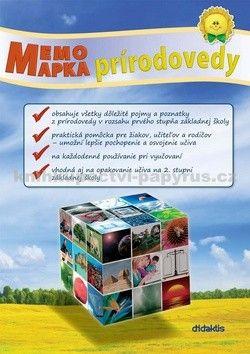 didaktis MemoMapka prírodovedy cena od 126 Kč