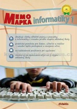didaktis MemoMapka informatiky 1 cena od 90 Kč