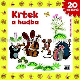 Zdeněk Miler: Krtek a hudba - Magnetická knížka cena od 109 Kč