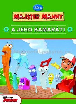 EGMONT Majster Manny a jeho kamaráti cena od 132 Kč