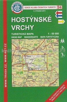 KČT 94 Hostýnské vrchy cena od 99 Kč