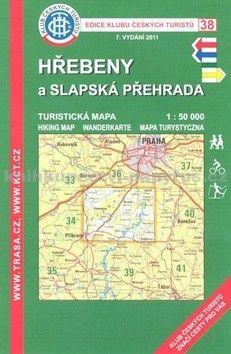 KČT 38 Hřebeny a Slapská přehrada cena od 89 Kč