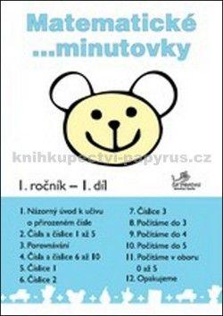 Josef Molnár, Hana Mikulenková: Matematické minutovky 1. ročník / 1. díl cena od 15 Kč