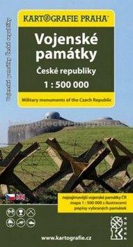Kartografie PRAHA Vojenské památky České republiky cena od 57 Kč