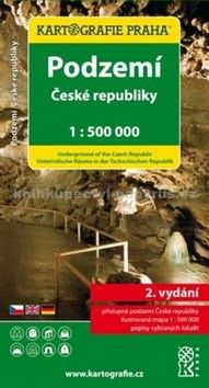 Kartografie PRAHA Podzemí České republiky cena od 69 Kč