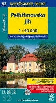 Kartografie PRAHA Pelhřimovsko jih cena od 65 Kč