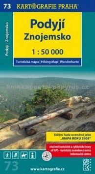 Kartografie PRAHA Podyjí, Znojemsko cena od 62 Kč