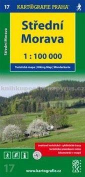 Kartografie PRAHA Střední Morava cena od 55 Kč