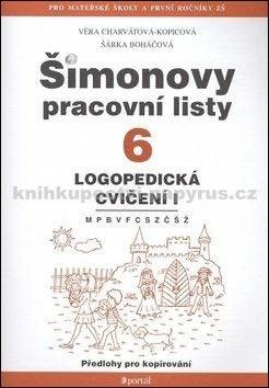 Šárka Boháčová, Věra Charvátová-Kopicová: Šimonovy pracovní listy 6 cena od 75 Kč