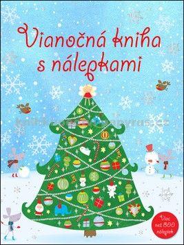 Vianočná kniha s nálepkami cena od 121 Kč