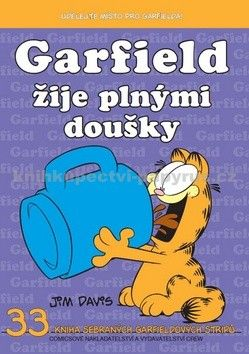 Jim Davis: Garfield žije plnými doušky (č.33) cena od 65 Kč