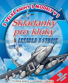 Svojtka Skládanky pro kluky Letadla a stroje cena od 114 Kč
