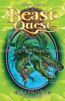 Adam Blade: Sepron, mořský plaz - Beast Quest (2) cena od 127 Kč