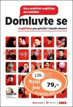 Angličtina.com Domluvte se + CD cena od 56 Kč