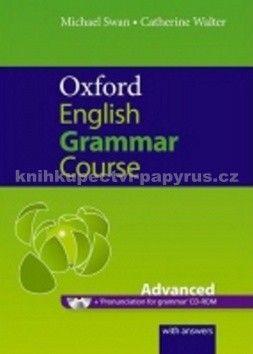 Swan Michael, Walter Catherine: Oxford English Grammar Course Advanced With Answers cena od 347 Kč