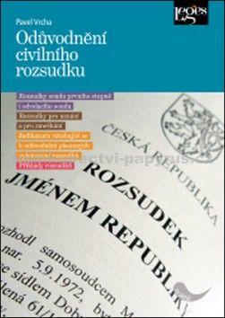 Pavel Vrcha: Odůvodnění civilního rozsudku cena od 263 Kč