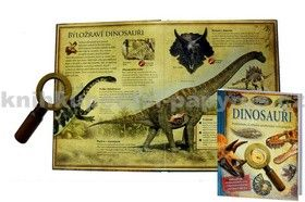 Douglas Palmer: Dinosauři pod lupou - Prohlédněte si zblízka neobyčejný svět pravěku cena od 189 Kč