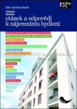 Leges 222 otázek a odpovědí k nájemnímu bydlení cena od 241 Kč