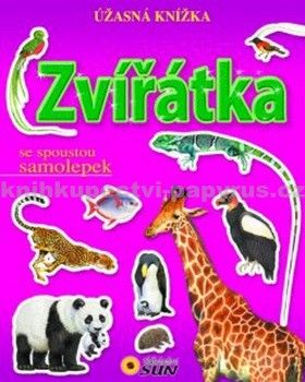 Francisco Arredondo: Zvířátka - Úžasná knížka se spoustou samolepek cena od 63 Kč