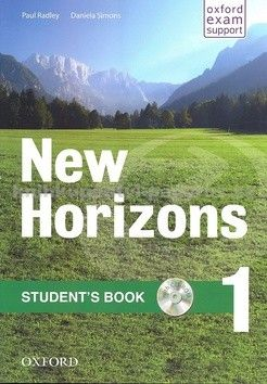 Paul Radley: New Horizons 1 Student´s Book with CD-ROM Pack - Paul Radley cena od 305 Kč
