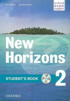 Radley Paul: New Horizons 2 Students´s Book with CD pack cena od 317 Kč