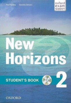 Radley Paul: New Horizons 2 Students´s Book with CD pack cena od 303 Kč