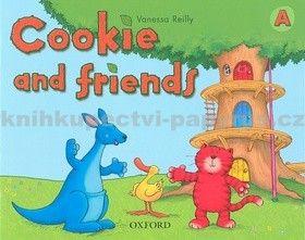 Vanessa Reilly: Cookie and friends A Classbook cena od 186 Kč