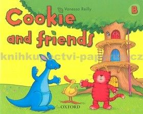 Vanessa Reilly: Cookie and friends B Classbook cena od 186 Kč