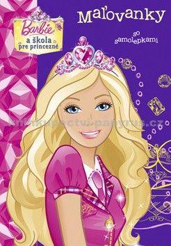 EGMONT Barbie a škola pre princezné cena od 78 Kč