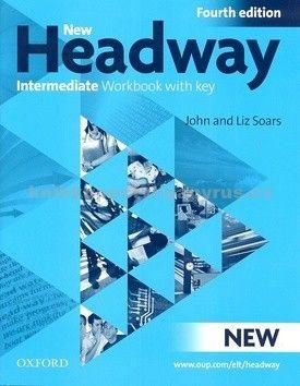 John a Liz Soars: New Headway Fourth Edition Intermediate Workbook with Key + iChecker CD cena od 207 Kč