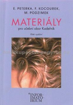 M. Podzimek: Materiály učební obor Kadeřník cena od 147 Kč