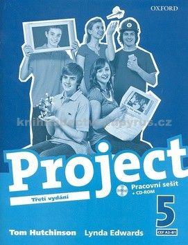 Tom Hutchinson: Project the Third Edition 5 Workbook CZ cena od 199 Kč