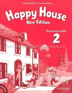 Maidment Stella: Happy House 2 New Edition Activity Book and MultiROM Pack CZ cena od 195 Kč