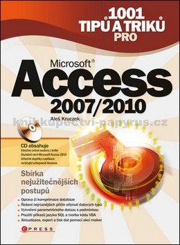 Aleš Kruczek: 1001 tipů a triků pro Microsoft Access 2007/2010 cena od 0 Kč