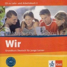 Klett Wir 2 K učebnici a pracovnímu sešitu Wir 2 cena od 293 Kč